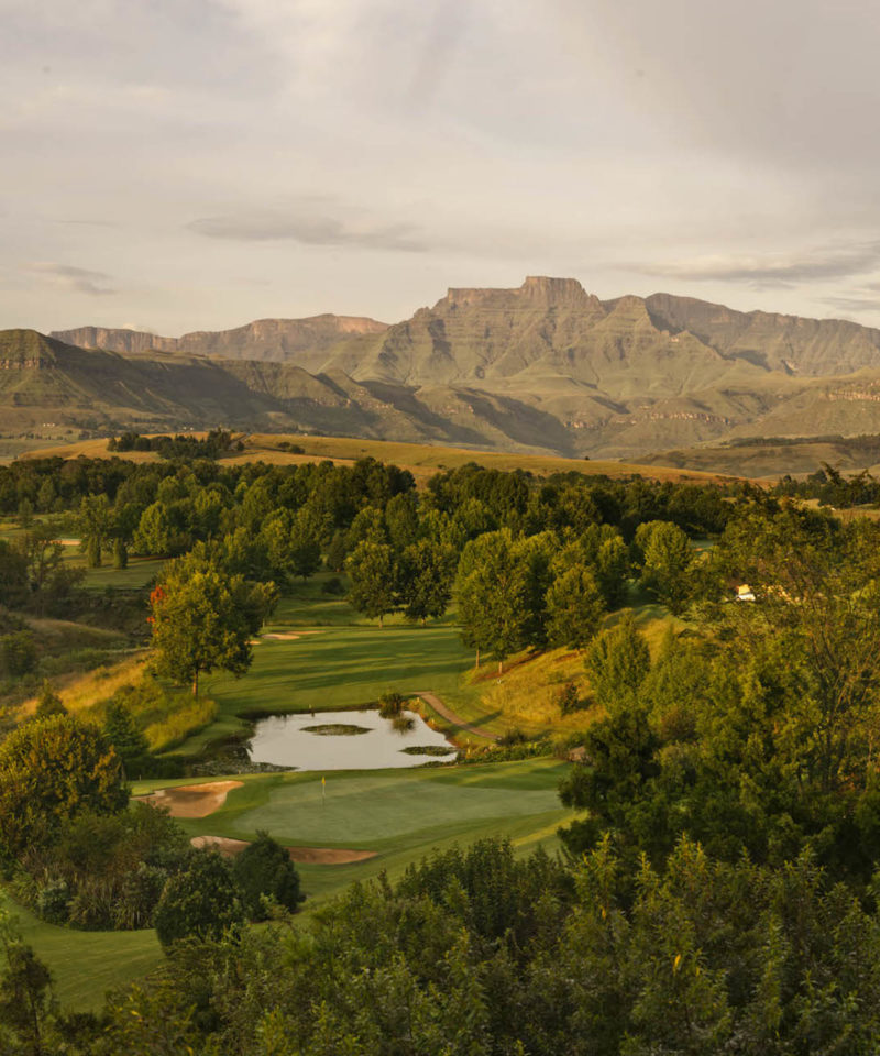 Champagne sports resort, South Africa