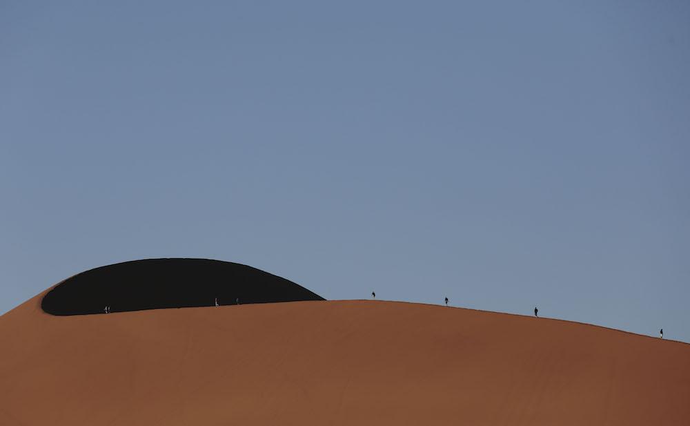 Rovos Rail dune walk, namibia