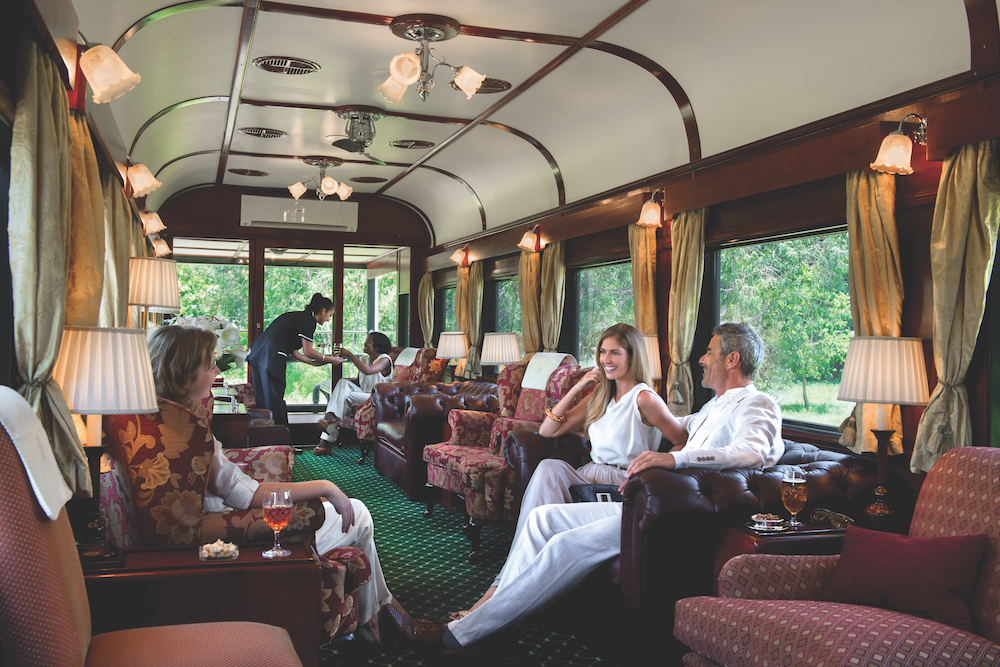 Rovos Rail car