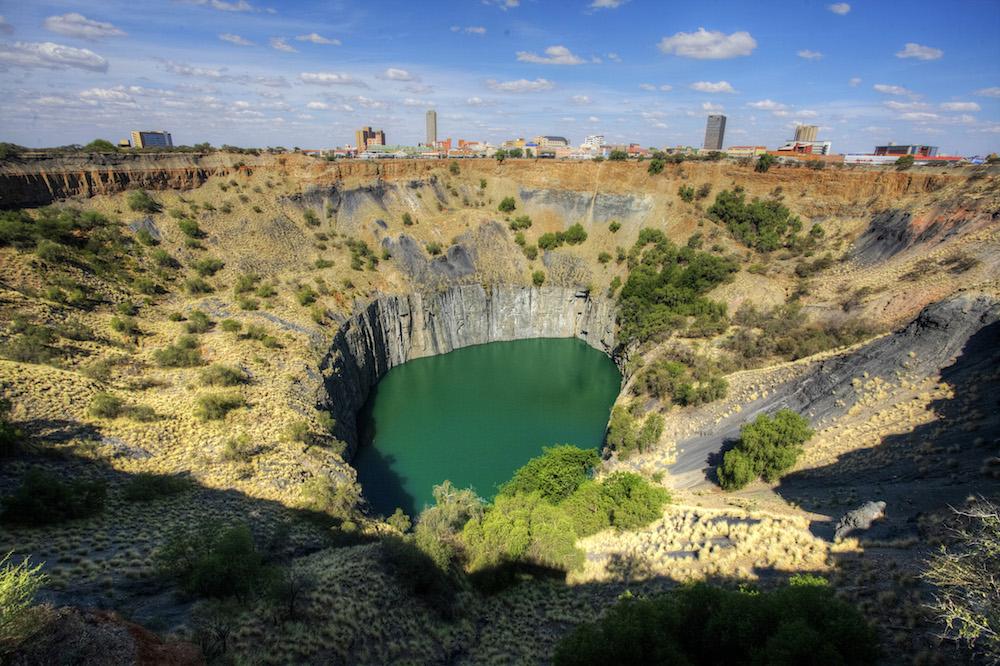 Rovos Rail - Kimberley big hole