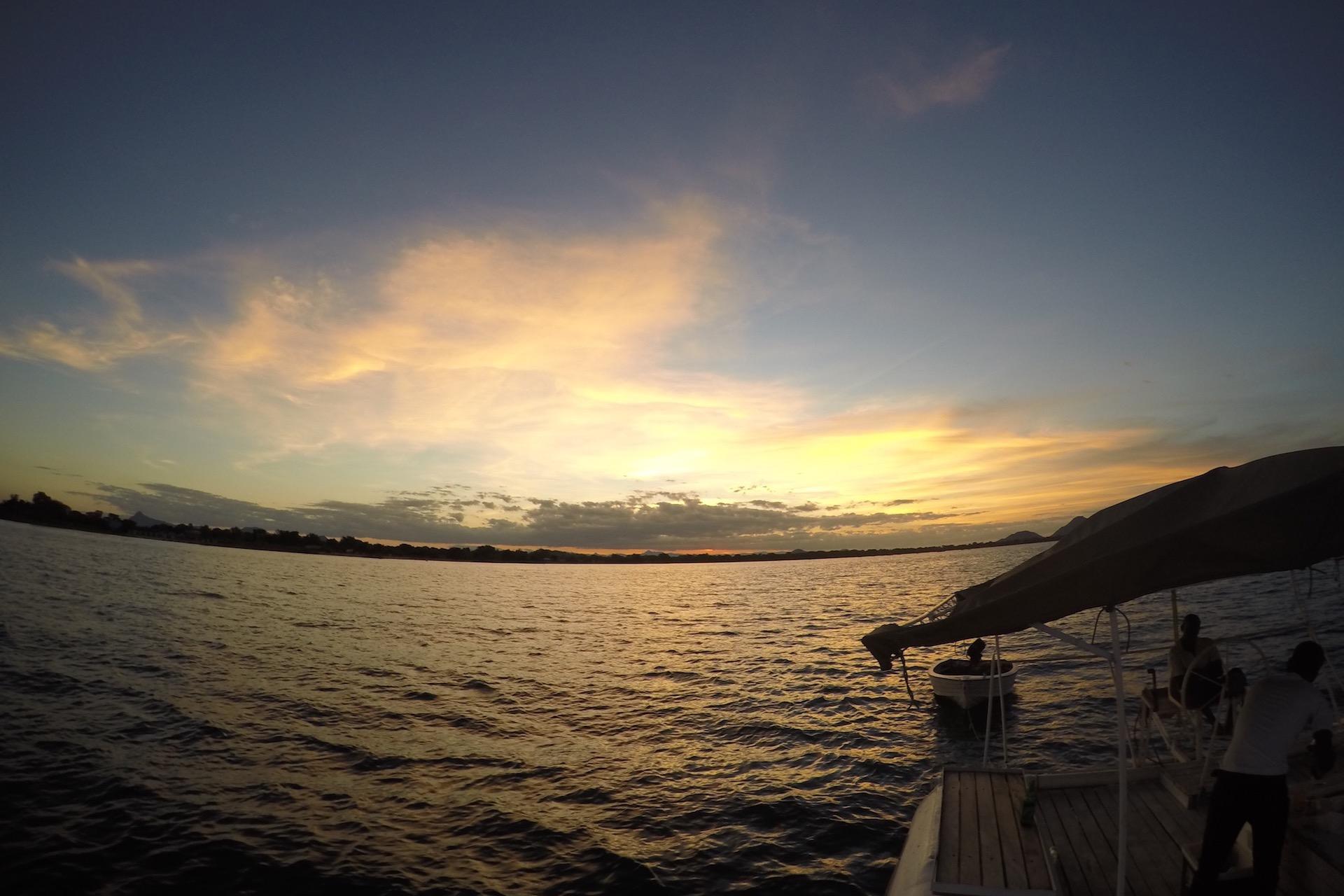Boat trip, Lake Malawi