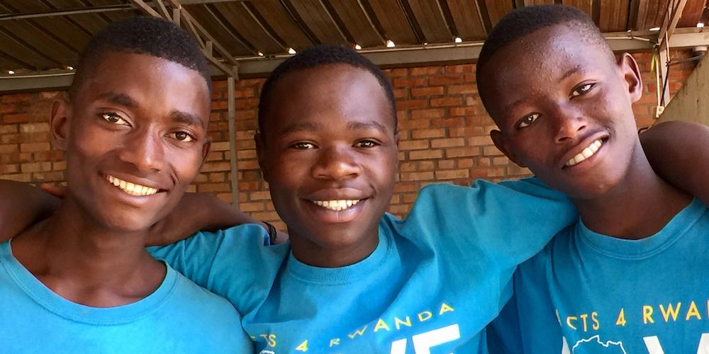 Acts 4 Rwanda children
