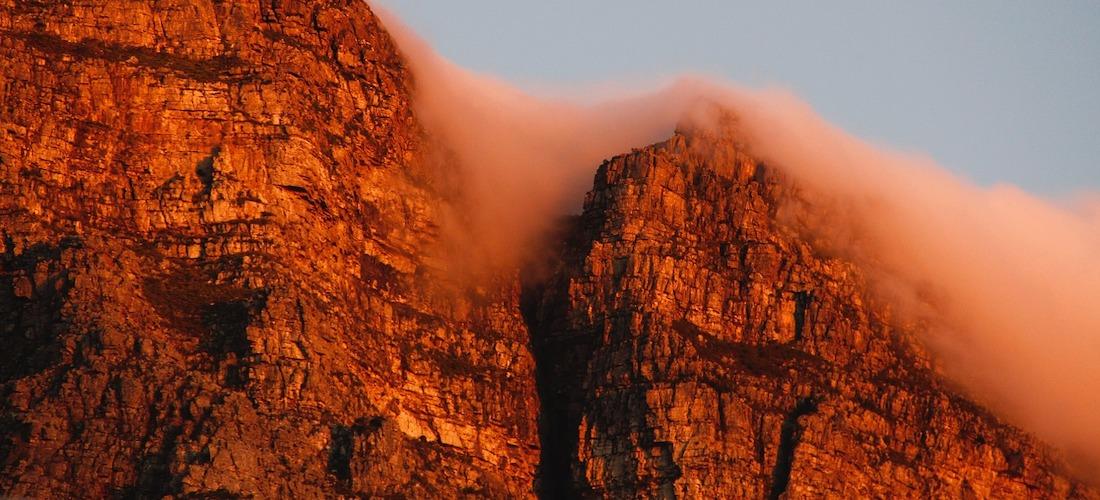 table-mountain sunset