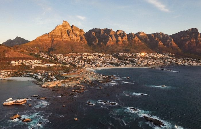 ocean view of cape town