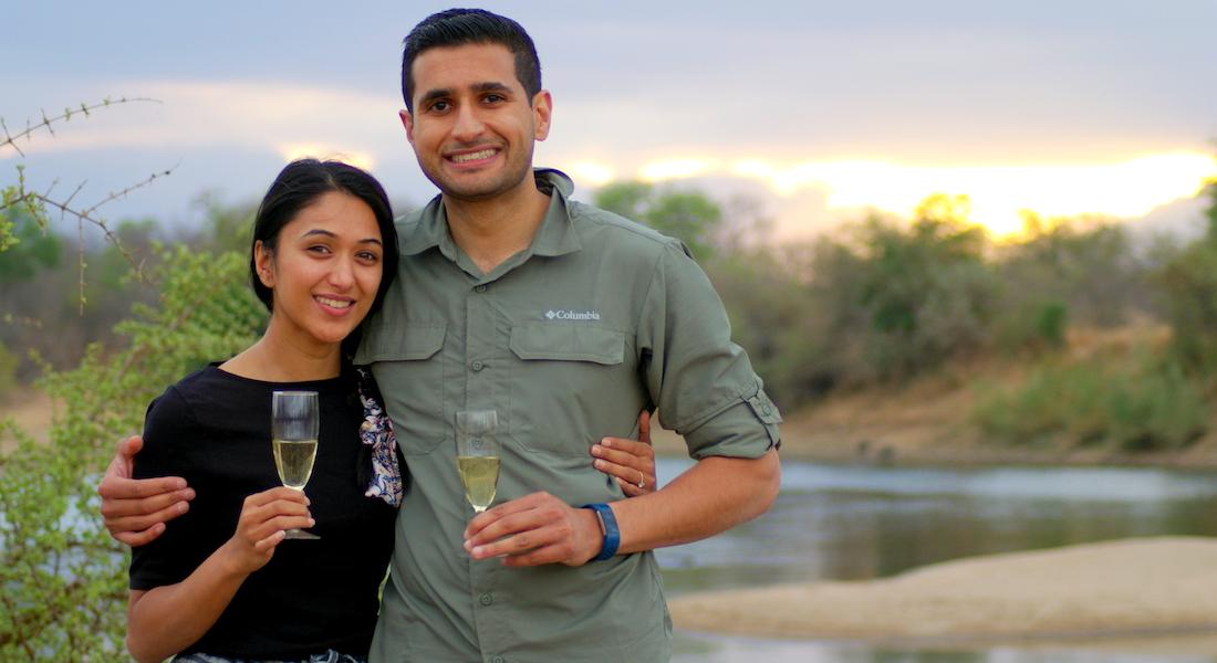 african safari honeymoon