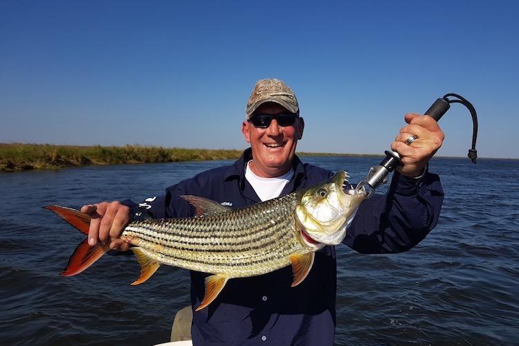 Tigerfish caught on the Zambezi