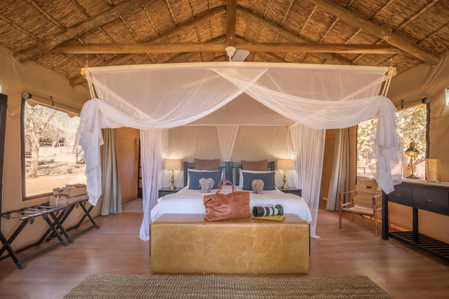 chisomo lodge tented room