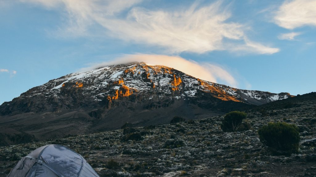 Mount Kilimanjaro at Sunrise