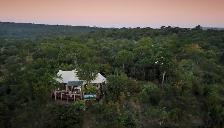 elephant camp aerial