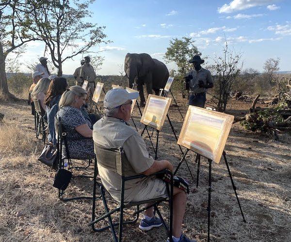 elephant art safari